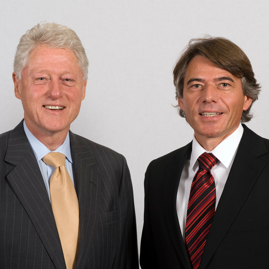 DZIP - Mario Krause und Bill Clinton